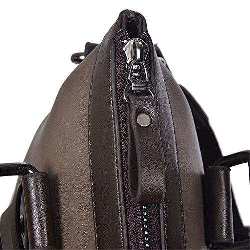 SUNLONG , Sac pour homme à porter à l'épaule Marron marron taille unique