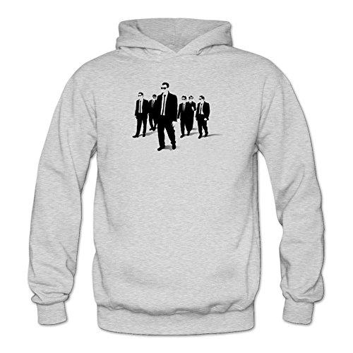 Women's Reservoir Dogs Logo Long Sleeve Sweatshirts Hoodie Tommery XXL