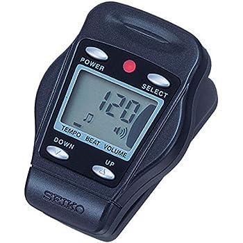 Seiko DM50 Clip Digital Metronome Black