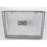 Liza Metal Single File Folder Holder - Chicken Wire Off White
