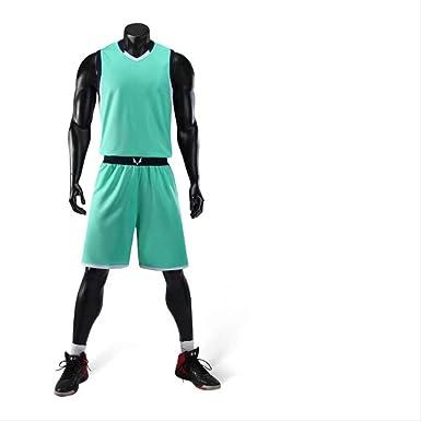 Jersey Baloncesto Hombres, Jerseys De Baloncesto Sin Mangas ...
