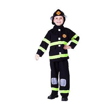 Dress Up America - Disfraz premiado de bombero deluxe, talla XL ...