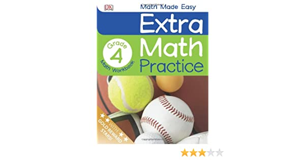 Extra Math Practice: Fourth Grade (Math Made Easy (DK)): DK ...