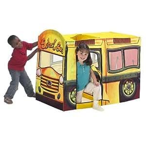 Amazon Com Playhut Yellow School Bus Play Tent Toys Amp Games