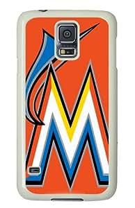 MLB Miami Marlins Samsung Galaxy S5 Hard Cover Case Vintage Edition