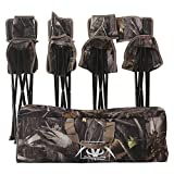 REDCAMP 5-Pack Tripod Hunting Chairs Set for