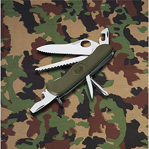 Victorinox Swiss Army One-Hand Trekker German Army Pocket KnifeOlive Drab