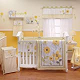 NoJo Bright Blossom 8 Piece Bedding Set, Baby & Kids Zone
