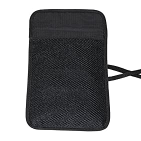 RFID Blocking Passport Holder Neck Pouch Travel Wallet