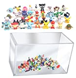 24 Pokemon Figures Mini Cake Topper with Storage Case