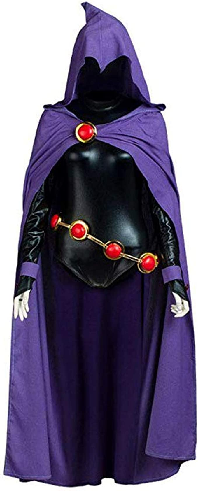 Amazon Com Anime Raven Cosplay Costume Purple Suit Outfit With Cloak Halloween Clothing Raven star cosplay www.facebook.com/ravenstarcosplay photography: anime raven cosplay costume purple suit