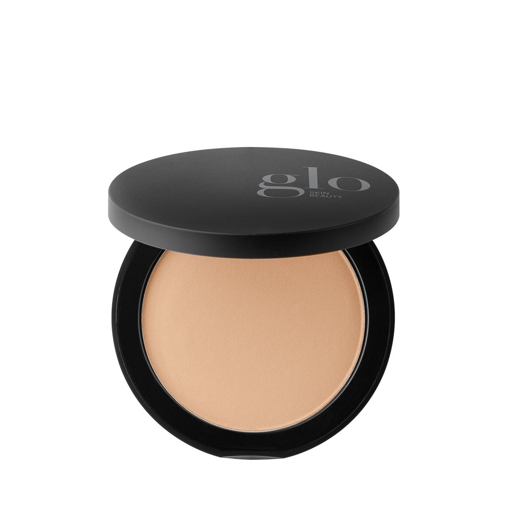 Glo Skin Beauty Pressed Base - Honey Light | Mineral Pressed Powder Foundation | 24 Shades, Buildable Coverage, Matte Finish by Glo Skin Beauty