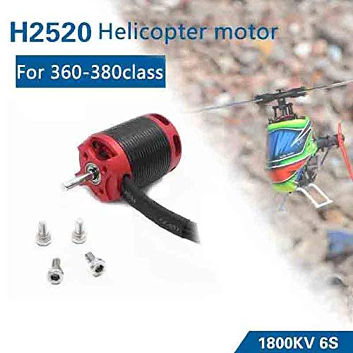 Kamas H2520 1800KV RC Brushless Motor for Helicopter X3 - Brushless Motor 450l