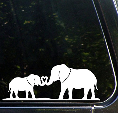 elephant car decal - 3