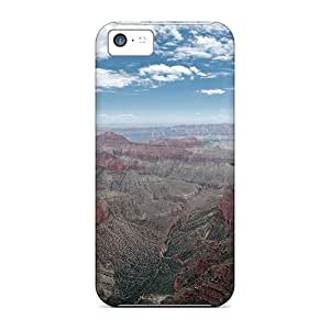 New Premium Flip Case Cover Great Canyon Lscape Skin Case For Iphone 5c