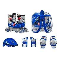 Combo de patinaje sobre ruedas de entrenamiento para niños de Chicago, talla 1 - 4