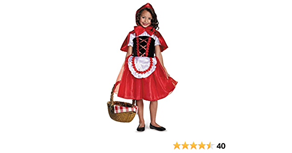 12 Little Red Riding Hood Costume for Girls 3T