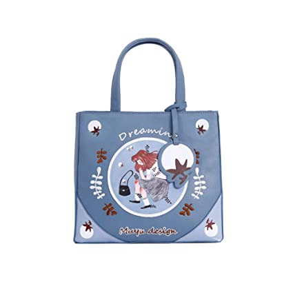 e6dbc29398b7 Amazon.com : Guyuexuan Bag Female, Personality Wild Messenger Bag ...