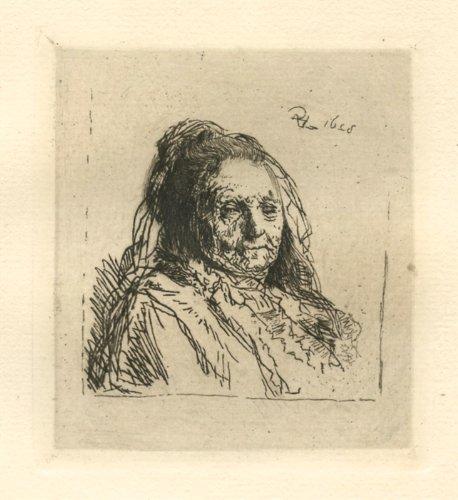 Rembrandt Fine Print Art - Rembrandt van Rijn (after)
