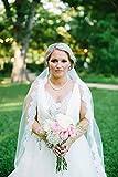 Lace Wedding Veil | Eyelash Lace