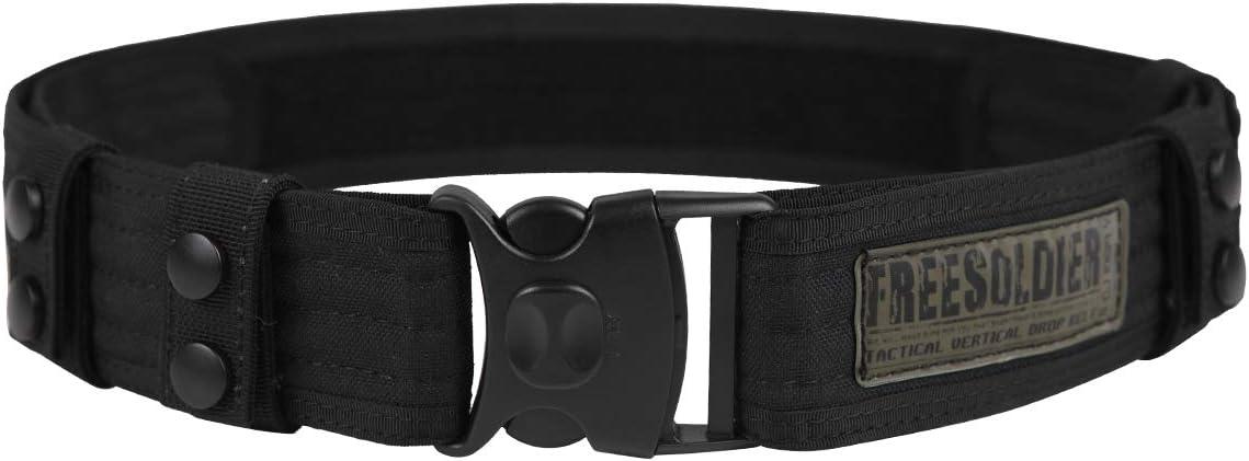 Cinturón táctico 100% de teflón de Free Soldier, para acampada, senderismo, actividades al aire libre