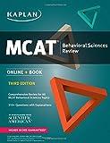 MCAT Behavioral Sciences Review: Online + Book (Kaplan Test Prep)