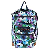 JanSport Womens Classic Mainstream Cool Student Backpack, Multi Watercolor Floral, 17.7 X 12.8 X 5.5 Inch