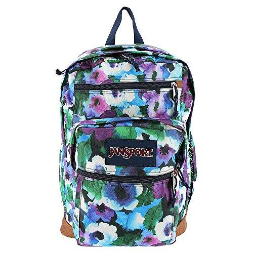 (JanSport Womens Classic Mainstream Cool Student Backpack, Multi Watercolor Floral, 17.7 X 12.8 X 5.5 Inch)