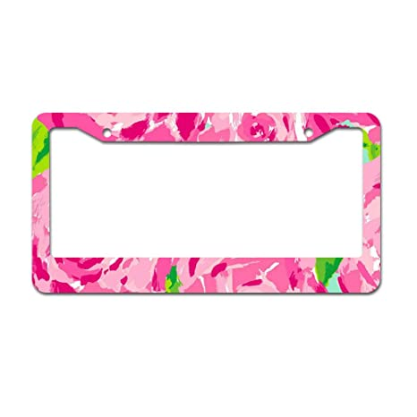 Amazon.com: DKISEE Abstract Watercolor Floral01 marco de ...