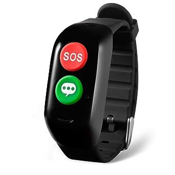 Bracelet De Positionnement Intelligent pour Personnes âgées/Surveillance De La Pression Artérielle/Fréquence Cardiaque
