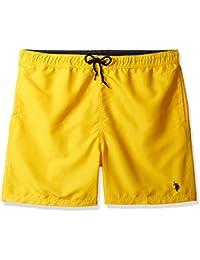 Men's Peached Microfiber Swim Short