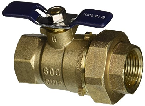 Febco 781-289LL Ball Valve with Union, 1