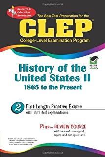 The clep history of the united states i wcd rea the best test clep history of the united states ii 1865 to the present rea fandeluxe Gallery