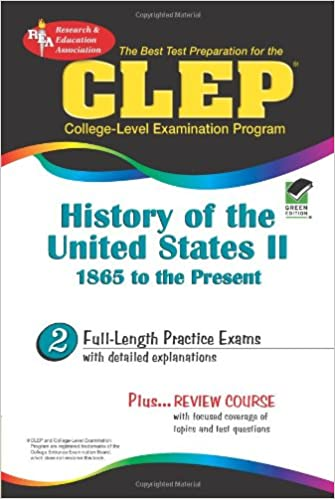 Amazon.com: CLEP History of the United States II, 1865 to ...