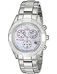 Citizen Womens FB1220-53D Regent Chronograph Eco-Drive Ladies Watch