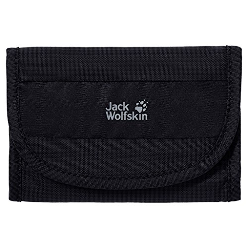 Jack Wolfskin Cashbag RFID Wallet, Black, 1.5 L by Jack Wolfskin