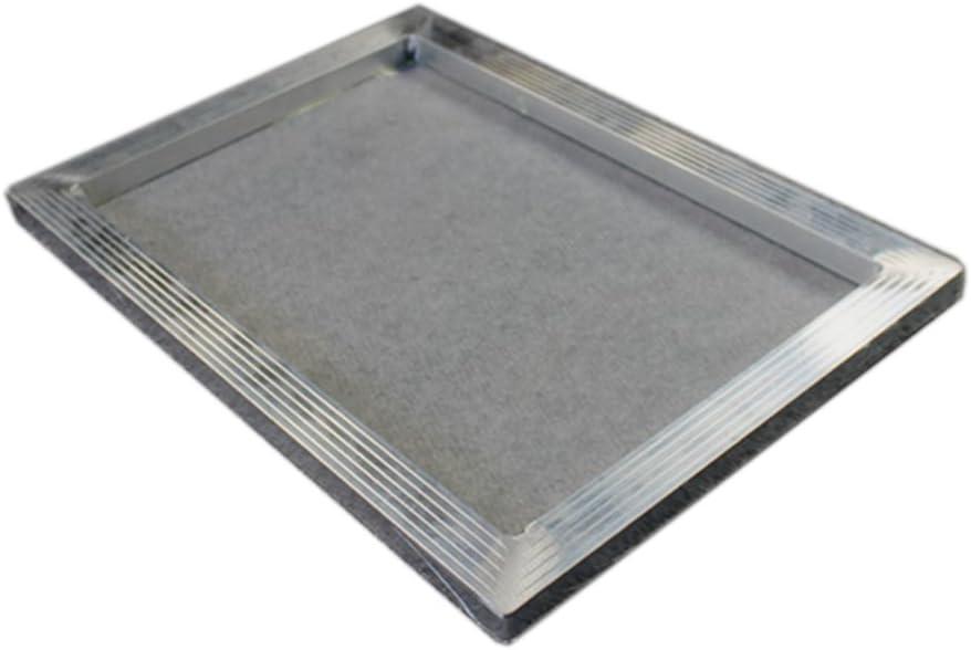 "23/"" x 31/"" 40 White Hi Tension Mesh Professional Aluminum Screen Printing Frame"