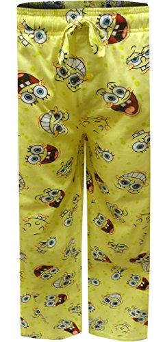 Mad Engine Men's Nickelodeon Spongebob Happy Faces Big