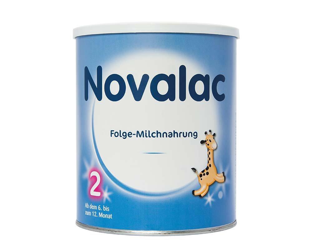 Novalac 2 - Folge-Milchnahrung - nach dem 6. Monat - 6er Pack (6x800g)