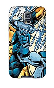 First-class Case Cover For Galaxy S5 Dual Protection Cover Booster Gold