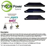 Tycon Systems TP-MS324 Mid Span High Power 16.8W POE Injector - 24 Port