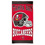 Tampa Bay Buccaneers Beach Towel - Licensed NFL Football Merchandise