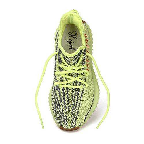 Corsa Traspiranti Giallo Leggere Scarpe Sneakers e LOOGLOO da 350 Hojert Uomo da v2 da Donna 8wqzSZq