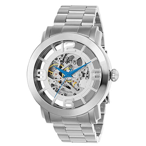 Invicta Men's Vintage Automatic Stainless Steel Casual Watch, Color:Silver-Toned (Model: 22581)