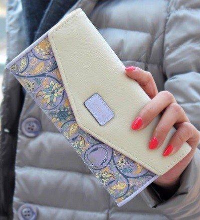 Long Clutch Phone Famous Designer Lady Female Wallet Women Luxury Brand Purse Carteras Portomonee Walet Money Bag Cuzdan Vallet - Women Designer Famous