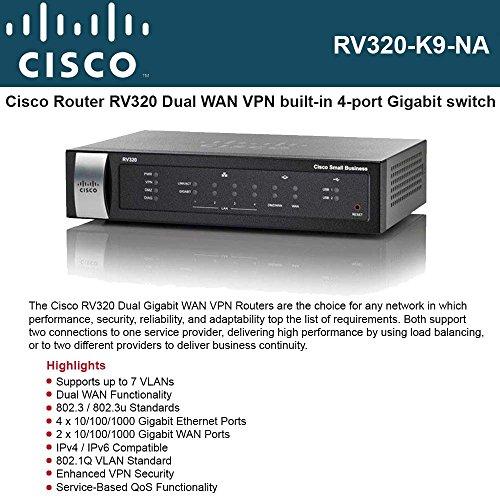 Cisco Small Business Rv320 - Router - Desktop