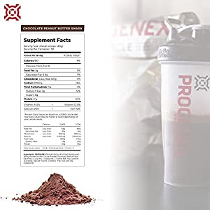 PROGENEX® More Muscle | Hydrolyzed Whey Protein Isolate Powder for Fat Burning and Lean Muscle Gain | Best Tasting Low Carb High Protein Shake for Women and Men | 30 Servings, Peanut Butter Smash