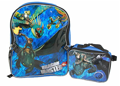 How to Train Your Dragon 2 Backpack and Lunch Bag Set