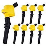 98 ford coil pack - Heavy Duty Set of 8 Ignition Coils for Ford Crown Victoria Expedition F-150 F-250 F-350 Mustang Lincoln Mercury 4.6L 5.4L V8 DG508 DG457 DG472 DG491