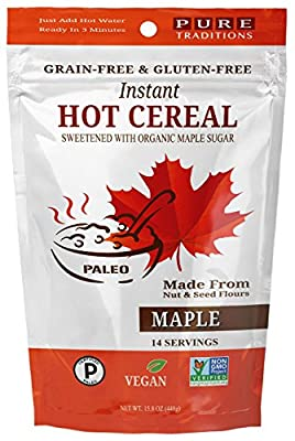 Instant Hot Cereal, Maple Certified Paleo